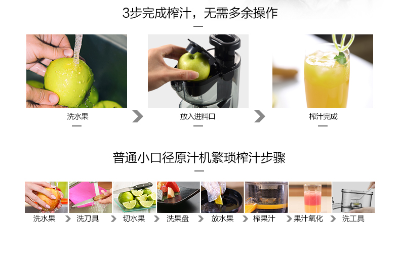 Midea Slow Juicer Reviews : Midea WJS15E28 Multi-functional Wide Feeding Chute Anti-Oxidation Auger Masticating Slow Juicer ...