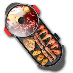 CMTM C3 Korean 2 in 1 Detachable Barbecue Skillet & Hot Pot with Ying-Yang Divider