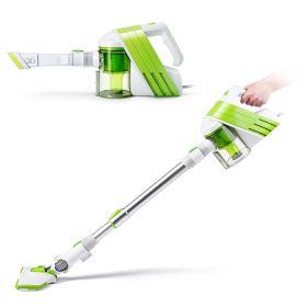 PUPPY D-521 Duo 2-in-1 Vacuum Cleaner, Low-noise Bagless Stick and Handheld Antimicrobial Filtration Vacuum