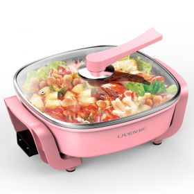 Liven DHG-T3000F Korean 5L Multi-functional Non-stick Electric Skillet / Steamer / Hot Pot