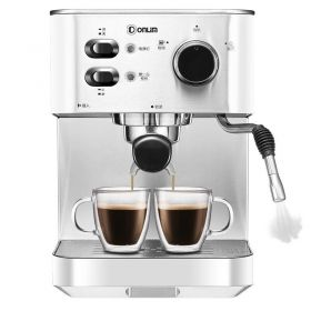DONLIM DL-DK4682 DEFOND 20 Bar Italian Pump Stainless Steel Semi Automatic Espresso and Cappuccino Machine