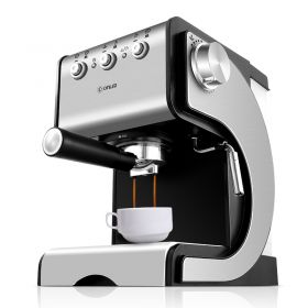 Donlim DL-KF500S 20 Bar Italian Pump Brushed Stainless Steel Semi Automatic Espresso and Cappuccino Machine