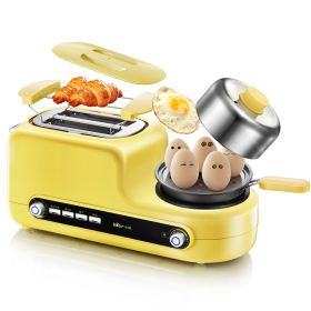 Bear DSL-A02Z1 Multi-functional Breakfast Station Egg Steamer, Toaster Oven and Skillet