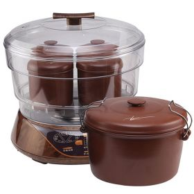 YILI DZ08A35 3.5 Liter Smart 5 in 1 Purple Clay (Zisha) Water-isolated Multi-stew Slow Cooker