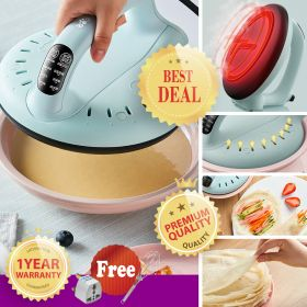 Bear DBC-C06G1 Smart Automatic Temperature Control Non-Stick Surface Popiah / Crepe Wrap Maker