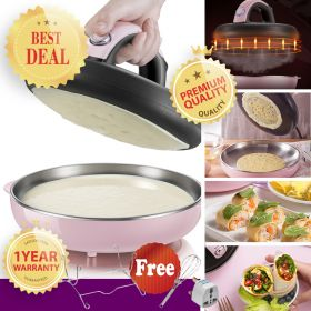 Bear DBC-A06D1 Non-Stick Surface Popiah / Crepe Wrap Maker