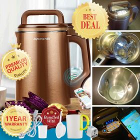 Joyoung DJ13B-C658SG Multi-functional Smart WIFI Enable Micro Fine Grinding Concentrated Sieve-less Soy Milk Maker