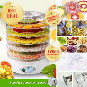 FOOD Large-size FD-770B Beef Jerky, Dry Fruit, Herbs, Vegetable and Camping Dish BPA Free Food Dehydrator