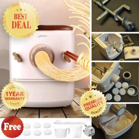 Midea MJ-NS15B11 Stainless Steel Spiral Dough Mixing Shaft Noodle Maker & Pasta Maker