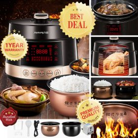 Joyoung Y-50C80 5L Multi-functional Dual Insert Programmable Pressure Cooker