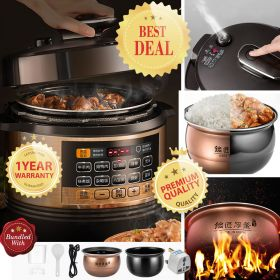 Joyoung Y-50C81 5L Multi-functional Dual Insert Programmable Pressure Cooker