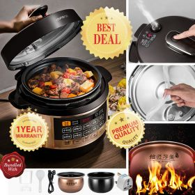 Joyoung Y-60C81 6L Multi-functional Dual Insert Programmable Pressure Cooker
