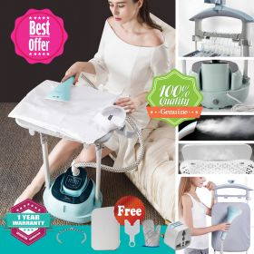 Midea YGD20D7 1800W Retractable Dual Bar Smart 2.0 Garment Steamer with Iron Board