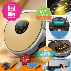 FMART YZ-X1 Self-recharge UV Dust-mite Killer Mopping Vacuum Robot with Detachable Reservoir