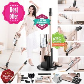 Haier ZB1205G Cordless Cyclonic Lithium Ion Motor Head 2-in-1 Lightweight Bagless Stick and Handheld Vacuum Cleaner