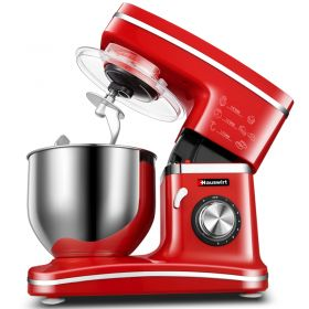 Hauswirt HM745 5 Liter Chef Gourmet 8-Speed Stand Mixer with Power Hub Attachment Capability