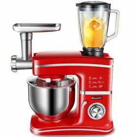Hauswirt HM745 PLUS 5.0 L Chef Gourmet 8-Speed Stand Mixer (Meat Grinder / Pasta Maker / Sausage Stuffer / Blender)