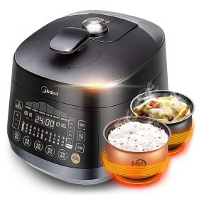 Midea MY-YL50EASY501 5L Multi-functional Cloud Recipe Dual Insert Programmable Timer Pressure Cooker