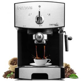 Petrus PE3360 20 Bar Italian Imported Pump Semi Automatic Espresso and Cappuccino Machine