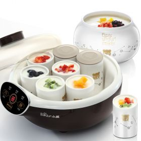 Bear SNJ-A15E1 1.5L Multi-functional Smart Yogurt Maker with 8 Natural Ceramic Jars