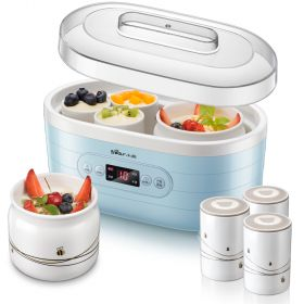 Bear SNJ-C10L1 Multi-functional Smart Yogurt Maker with 2 + 6 Ceramic Insert