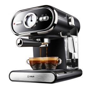 DONLIM DL-KF5002 Nostalgic 20 Bar Italian Pump Semi Automatic Espresso and Cappuccino Machine
