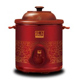 YILI TB69A68 Multi-functional 6.8 Liter Purple Clay (Zisha) Insert Multi-stew Slow Cooker