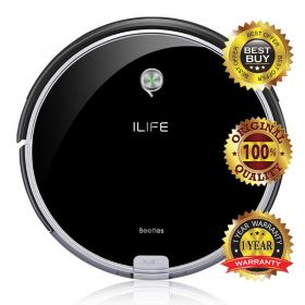 ILIFE X623 Ultra Slim 7.2cm Self-rechargeable Vacuum / Mopping Cleaning Robot with 300ml Detachable Water Tank