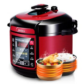Midea WQC60A5 6L Multi-functional Dual Insert Programmable Timer Pressure Cooker