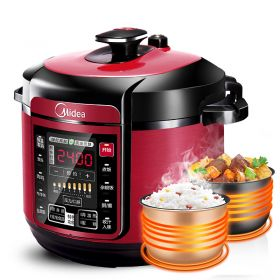 Midea MY-QC50A5 5L Multi-functional Dual Insert Programmable Timer Pressure Cooker