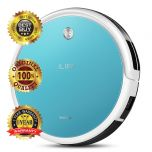 ILIFE T4 Ultra Slim Self-recharge Vacuum / Mopping Cleaning Robot with 300ml Detachable Reservoir (Blue)