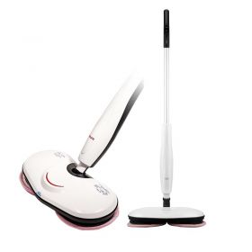 Haan AMC-5500W Aqua Jet Cleaning and Disinfection Effortless Cordless Rotating Steam Mop