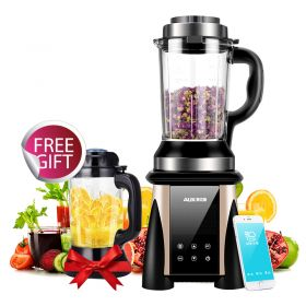 AUX WIFI-enabled AUX-PB931 Hi-power BPA-free Dual High Borosilicate Glass Blender with Heating System