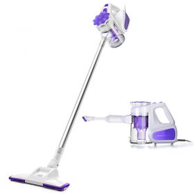 PUPPY D-526 Duo 2-in-1 Vacuum Cleaner, High Suction Cyclonic Low-noise Bagless Lightweight Stick and Handheld Vacuum