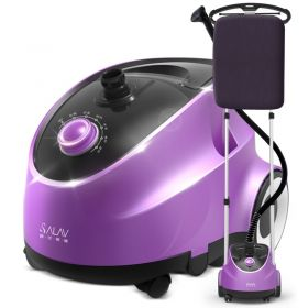 SALAV D11 Purple Professional Series Dual Bar Garment Steamer