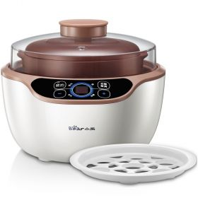 Bear DDZ-A12D2 1.2 Liter Smart Purple Clay (Zisha) Water-isolated Multi-stew Slow Cooker