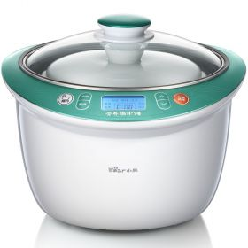 Bear DDZ-135TA Upgraded Large Water-isolated Multi-stew & Direct Stew Slow Cooker (5 Inserts)