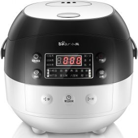 Bear DFB-A20Y1 2L Programmable Timer Fuzzy Logic Electric Non-Stick Insert Rice Cooker / Multi-Cooker
