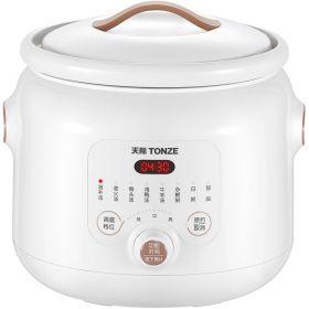 TONZE DGD40-40EWD Smart 4.0 Liter High-grade Ceramic Insert Multi-stew Slow Cooker, Soup maker