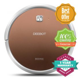 ECOVACS DN620+ Ultra Slim APP-controlled Vacuum / Mopping Cleaning Robot with 300ml Detachable Reservoir