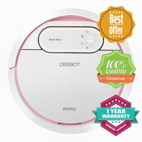 ECOVACS DEEBOT DW701 WIFI Controlled SMART MOVE Organised Cleaning Robotic Vacuum with Detachable Water Tank