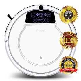 FMART E-550W (S) Organised Cleaning System Robotic Vacuum Cleaner with Water Tank