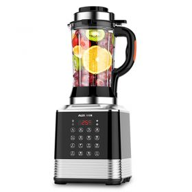 AUX HX-PB850 High-speed 8-point Blade 8-Edge BPA-Free High Borosilicate Glass Blender with Heating System