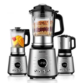 AUX HX-PB9216 High-speed 8-point Blade BPA-free 3 Jugs Blender with Heating System