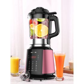 AUX HX-PB9221 High-speed 8-point Blade BPA-Free High Borosilicate Glass Blender with Heating System