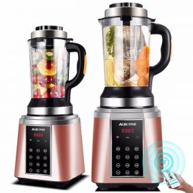 AUX Smart HX-PB965 WIFI Controlled High-speed 8-point Blade BPA-free Dual High Borosilicate Glass Blender with Heating System