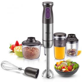 Bear JBQ-D05D2 Multi-functional Handheld Immersion Blender/Food Processor/Grinder (5-piece Set)