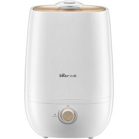 BEAR JSQ-A50U1 Cool Mist Humidifiers, 5L Top Fill Humidifier Oil Diffusers All Night Moisture Quiet Humidifier with High Low Mist, Auto-Off Timer, for Bedroom, Baby Room, Home Yoga, 360° Nozzle, Ultra Quiet, High Output up to 380mL/h