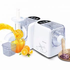 Joyoung JYN-W6 2 in 1 Multi-functional Auger Masticating Slow Juicer Noodle Maker & Pasta Maker