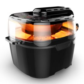 Liven KZ-D1001 Multi-purpose 10 Liter 3D Hot Air Fryer and Rotisserie Oven